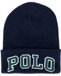 Polo Ralph Lauren - Polo Embroidered Beanie - Lyst