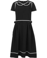 Comme des Garçons - Flared Midi Dress - Lyst