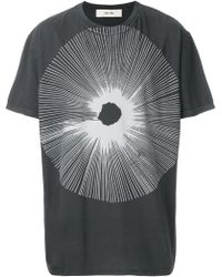 Damir Doma - Printed Cotton T-shirt - Lyst