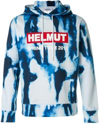 Helmut Lang - Hoodie With Logo - Lyst
