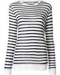 T By Alexander Wang - T-shirt In Jersey - Lyst