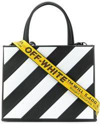 Off-White c/o Virgil Abloh - Striped Tote Bag - Lyst