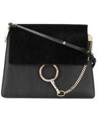 Chloé - Faye Leather Shoulder Bag - Lyst