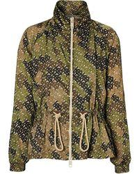 Burberry - Turtle Neck Jacket - Lyst