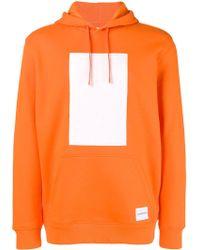 Calvin Klein - Printed Hooded Sweatshirt - Lyst
