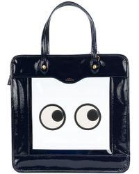 Anya Hindmarch - Eyes Leather Bag - Lyst