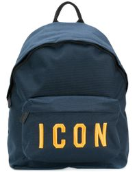 DSquared² - Backpack Nylon Printed Icon - Lyst