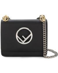 Fendi - Kan I Small Handbag With Logo - Lyst