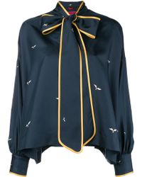 F.R.S For Restless Sleepers - Bow Neckline Blouse - Lyst