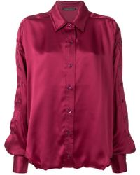 Y. Project - Silk Shirt - Lyst
