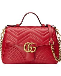 Gucci - Small Marmont Handbag - Lyst