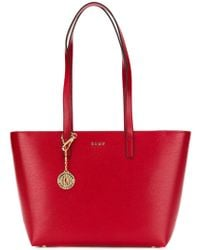 DKNY - Bryant Leather Tote Bag - Lyst