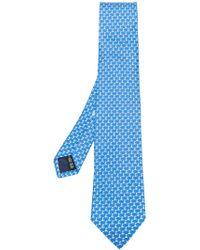 Ferragamo - Classic Printed Tie - Lyst