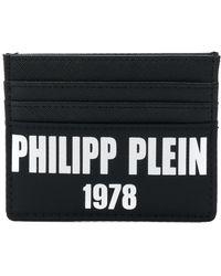 Philipp Plein - Logo Print Leather Clutch - Lyst