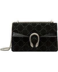 Gucci - Small Velvet Dionysus Shoulder Bag - Lyst