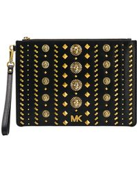 MICHAEL Michael Kors - Leather Beauty-case - Lyst