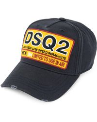 DSquared² - Badge Embroidered Baseball Hat - Lyst