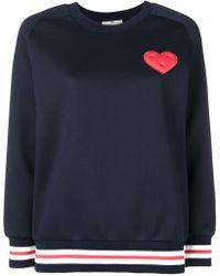 Anya Hindmarch - Chubby Heart Sweatshirt - Lyst