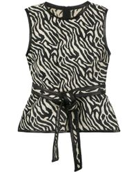 DSquared² - Striped Top - Lyst