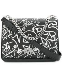 MICHAEL Michael Kors - Graffiti Shoulder Bag - Lyst