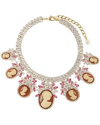Dolce & Gabbana - Necklace With Charms - Lyst