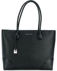 MICHAEL Michael Kors - Mercer Gallery Leather Messenger Bag - Lyst