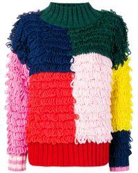Mira Mikati - Wool Blend Turtle Neck Sweater - Lyst
