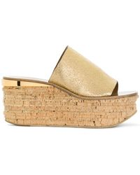 Chloé - Camille Wedge Sandals - Lyst