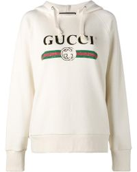 Gucci - Printed Hoodie - Lyst