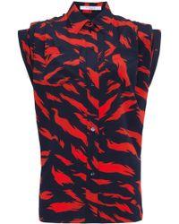 Givenchy - Tiger Print Shirt - Lyst