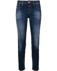 Closed - Baker Slim Fit Cropped Jeans - Lyst
