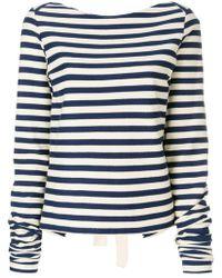 Erika Cavallini Semi Couture | Juliette Boat-neck Sweater | Lyst