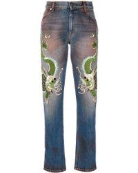 Gucci - Boyfriend Jeans - Lyst