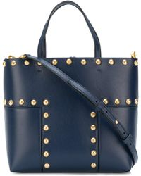 Tory Burch - Block-t Leather Shoulder Bag - Lyst