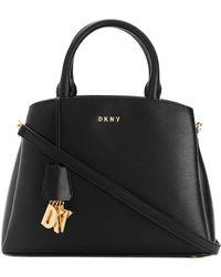 DKNY - Paige Leather Shoulder Bag - Lyst