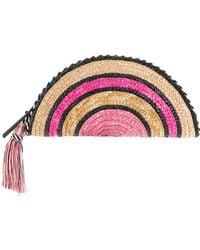 Rebecca Minkoff - Handbag Straw Taco Clutch - Lyst
