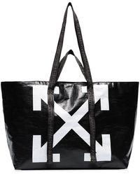 Off-White c/o Virgil Abloh New Commercial Tote Bag - Black