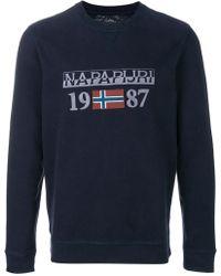Napapijri | Berthow Crewneck Sweatshirt | Lyst