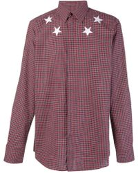 Givenchy - Stars Print Cotton Shirt - Lyst