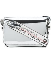 Off-White c/o Virgil Abloh - Mini Flap Mirror Bag - Lyst