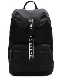 Givenchy - Logo Printed Backpack - Lyst
