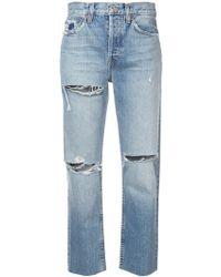 RE/DONE - Jeans Boyfriend - Lyst