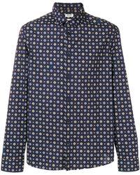 KENZO - Camicia Slim-fit In Cotone - Lyst