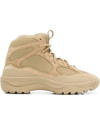 Yeezy - Suede Desert Boots - Lyst