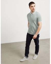 Fred Perry - Mens Twin Tipped Short Sleeve Polo Shirt Ivy Green/ivy Green - Lyst