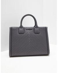 Karl Lagerfeld - Klassik Quilted Tote Bag - Lyst
