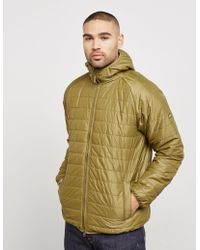 Barbour - Mens International Level Quilted Padded Jacket Khaki/khaki - Lyst