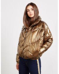 Pyrenex - Womens Willow Metallic Jacket Gold - Lyst