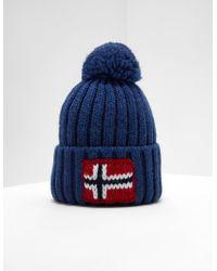 52a69b28e4c Lyst - Napapijri Semiury Bobble Hat in Black for Men