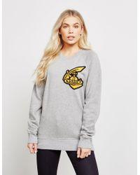 Vivienne Westwood - Oversized Patch Sweatshirt - Lyst